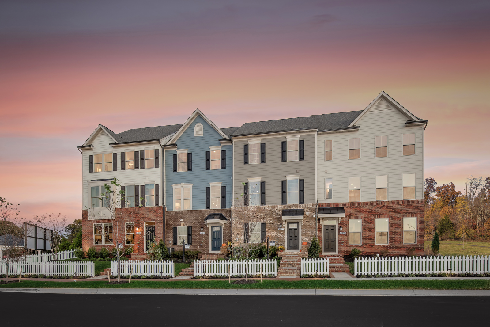New Homes For Sale At Potomac Shores Towns In Woodbridge Va Within