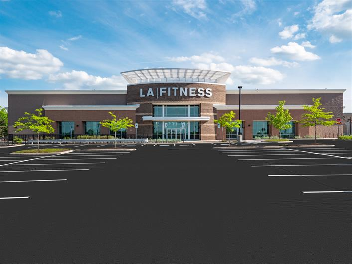 PORTAGE CROSSING CONVENIENCES ARE NEARBY INCLUDING LA FITNESS FOR A GREAT WORKOUT