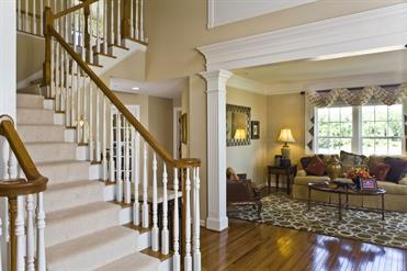 Remington Place Foyer/LR