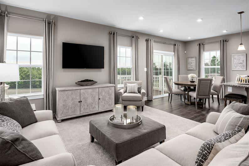 OPEN CONCEPT LIVING AREAS