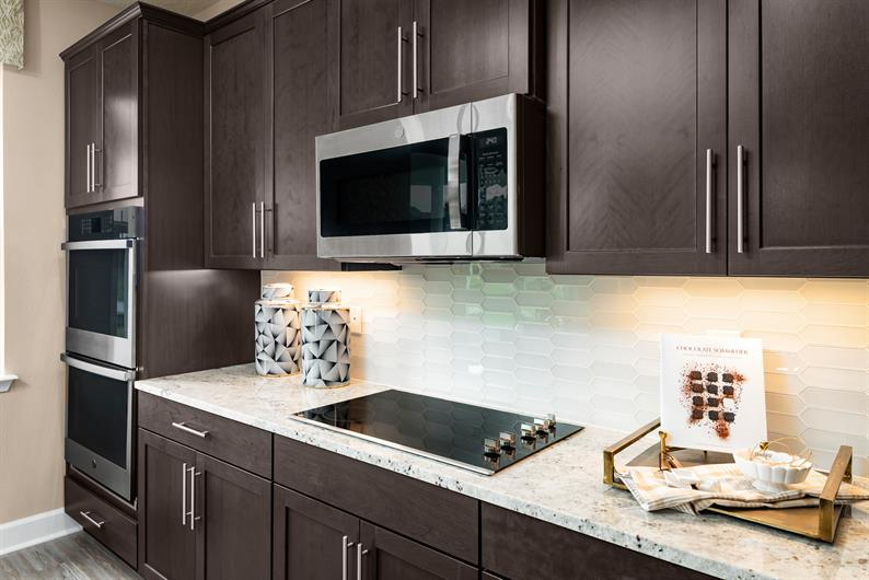 Enjoy preparing your favorite meals in a gorgeous new kitchen