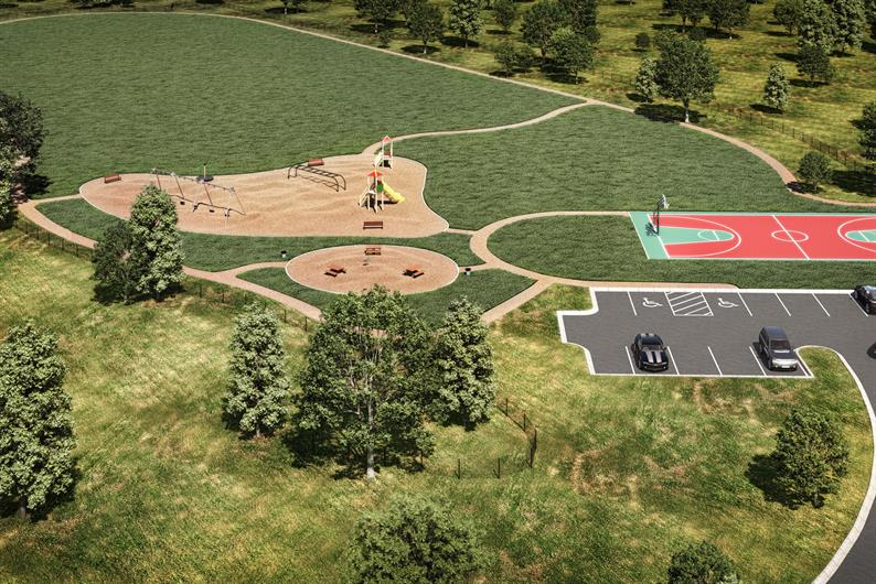 BRAND NEW 5 ACRE COMMUNITY PARK