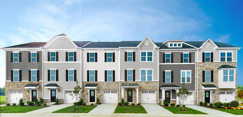 Own a brand new townhome at Aspen Woods
