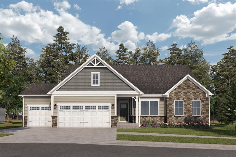 Huntersville Community with Spacious Homesites