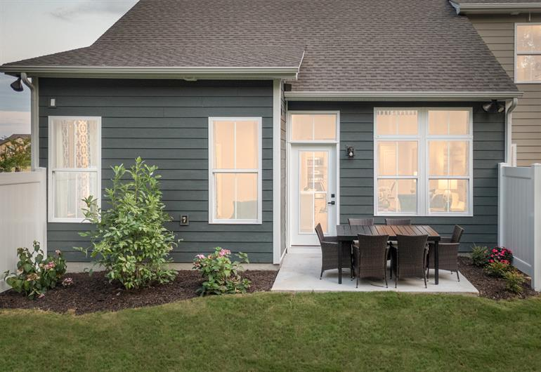 Townhome living with outdoor space