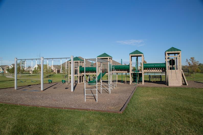 COMMUNITY PLAYGROUND AND CUL-DE-SAC, WOODED HOMESITES UP TO 1/3 ACRE IN SIZE