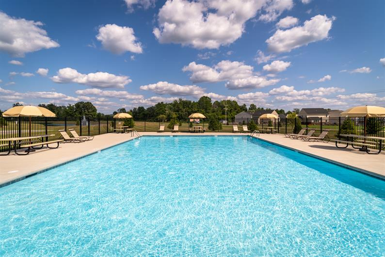 Stunning Community Pool with grande clubhouse