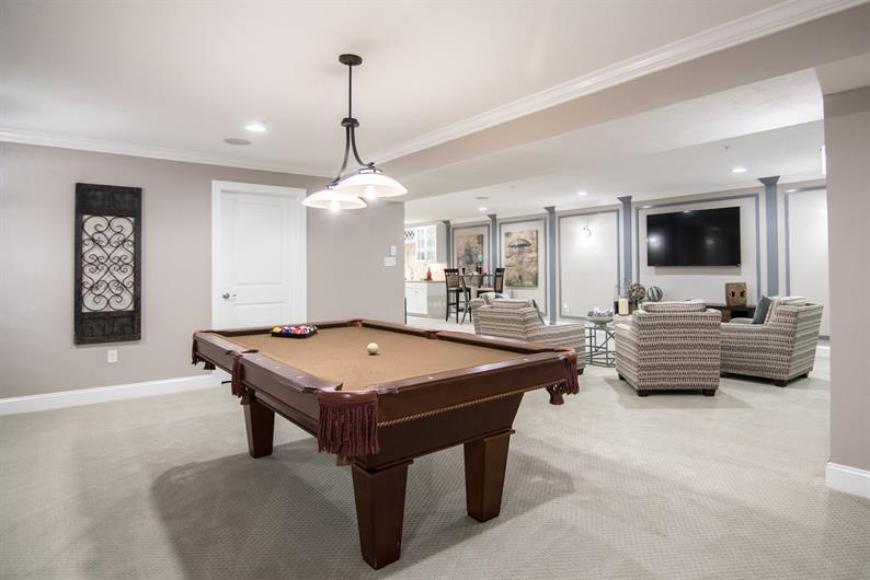 Include a Basement or Flex Space for an Extra Hangout Spot