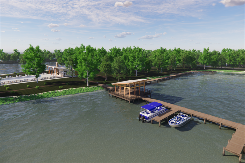 COMING SOON! 300FT COMMUNITY PIER