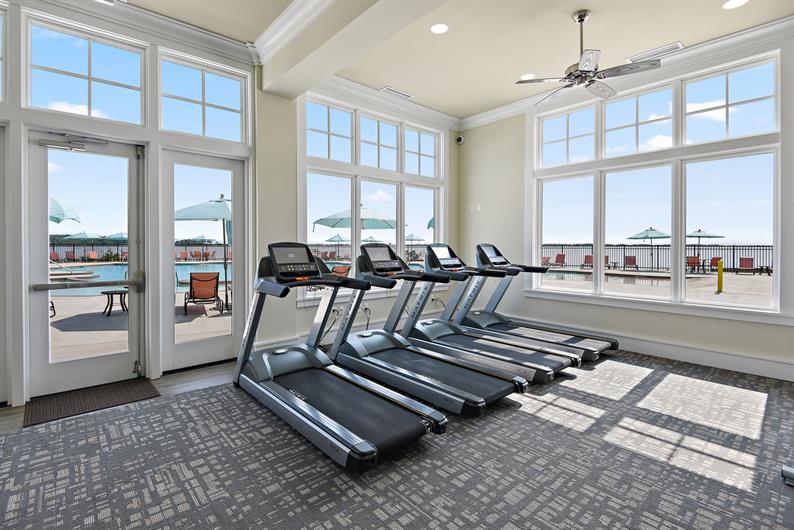 No monthly gym membership fee!