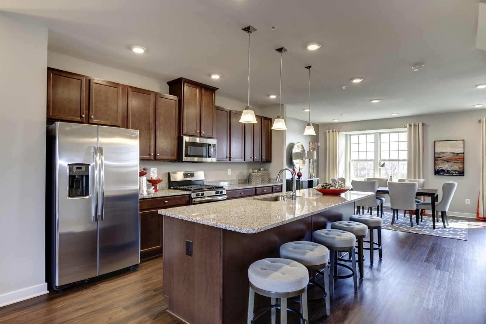 New Schubert Townhome Model For Sale At Pondview Townhomes In Millersville,  MD