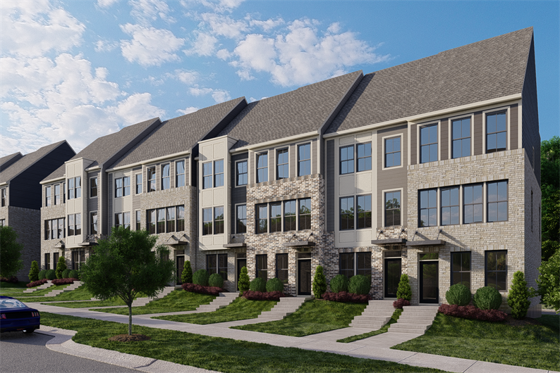 SPACIOUS 3 OR 4 STORY TOWNHOMES