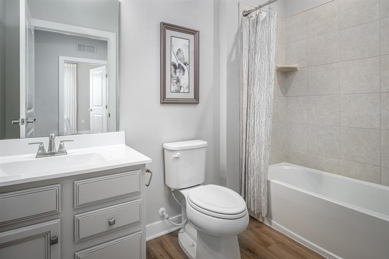 Two-Bath Floorplans