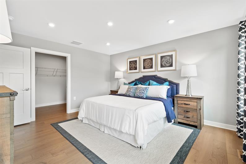 Owner's Bedroom designed with you mind