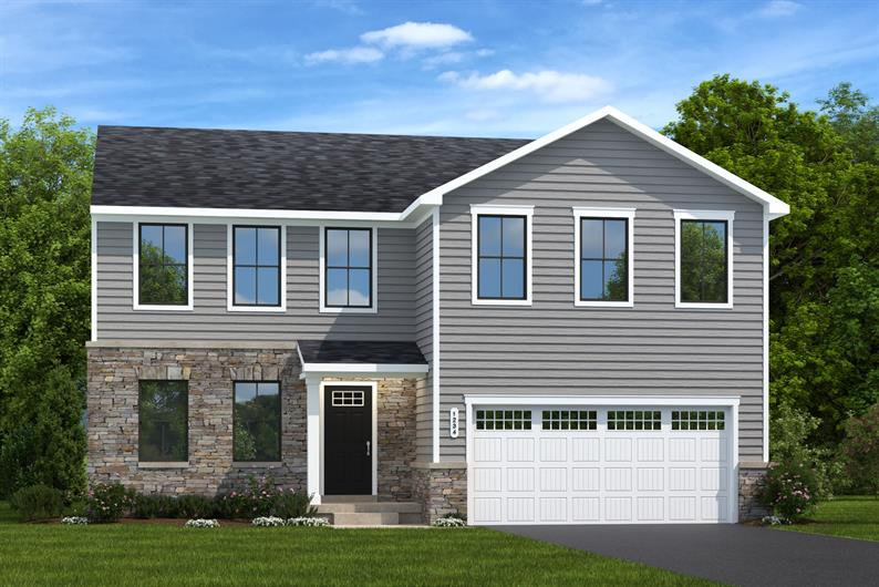 Homesite Special: Elm Floorplan Surrounded By Trees