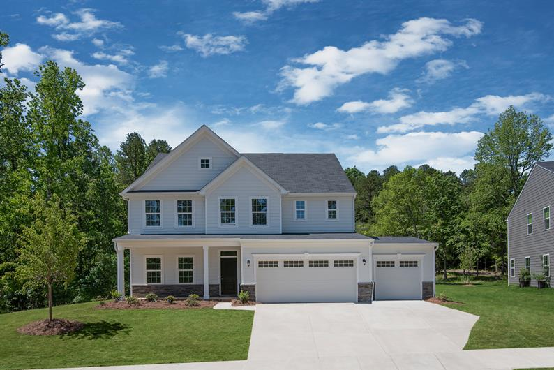 Huntersville Community with Spacious, Wooded Homesites