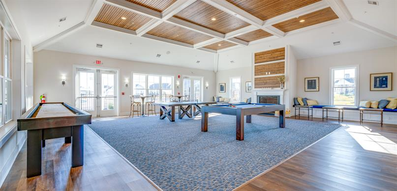 Beautiful Community Clubhouse and Amenities