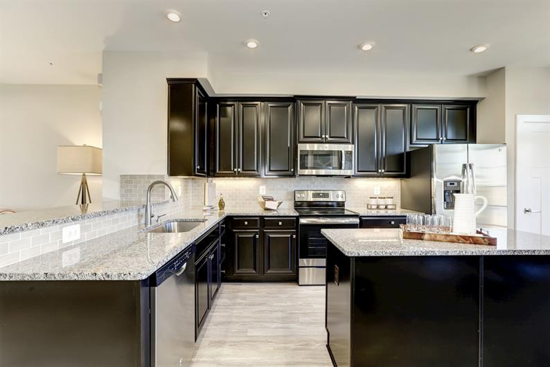 Upgraded kitchen included!
