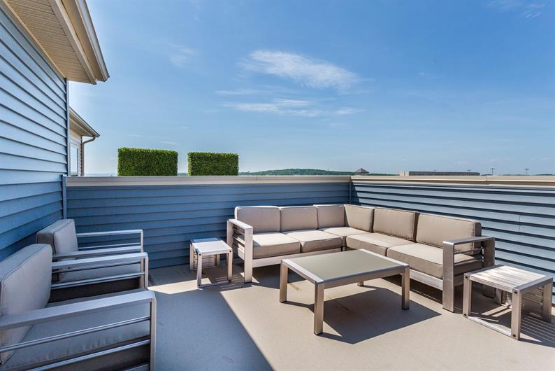 Available Rooftop Deck