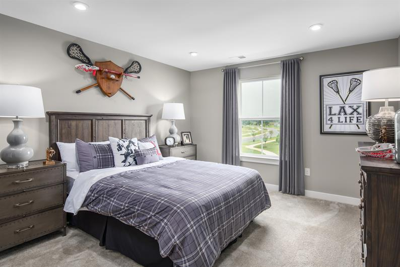 ENOUGH BEDROOMS FOR FAMILY AND GUESTS