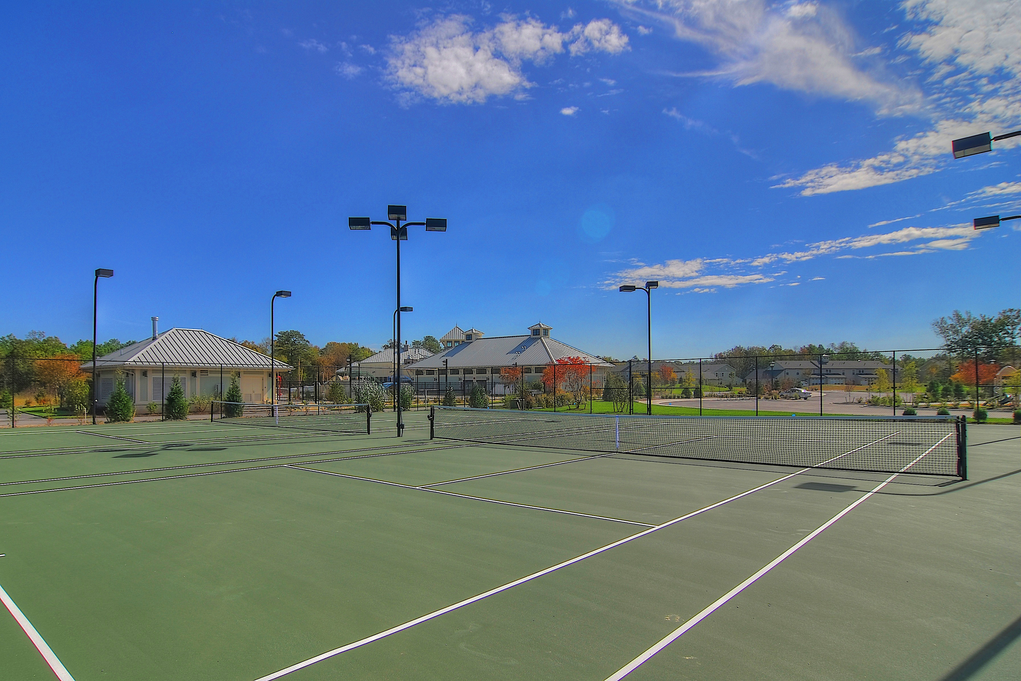 4 Tennis courts, a sand pit for volleyball, bocci ball, pickleball and horseshoe pits guarantee you'll always have something to do