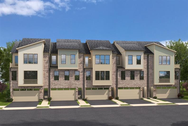 Modern Townhome Floorplans Arriving to Columbia