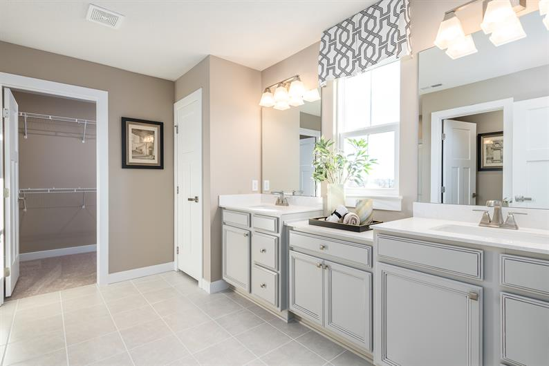 Luxurious owner's bathrooms