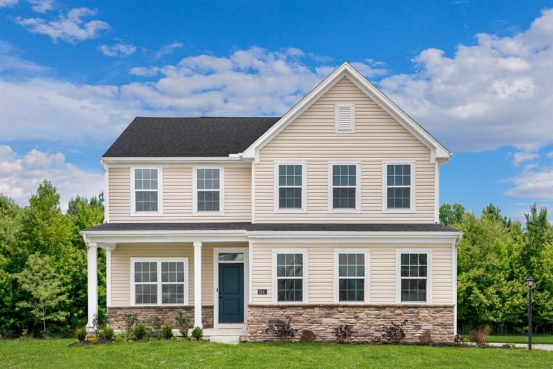 Private & wooded lots with true curb appeal