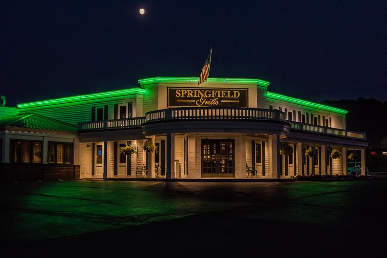 Enjoy an evening out at the Springfield Grille
