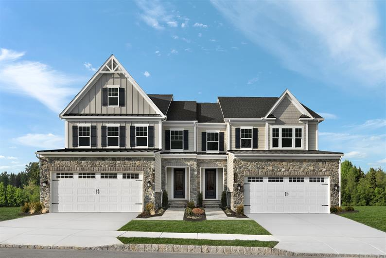 Luxury twin and townhomes