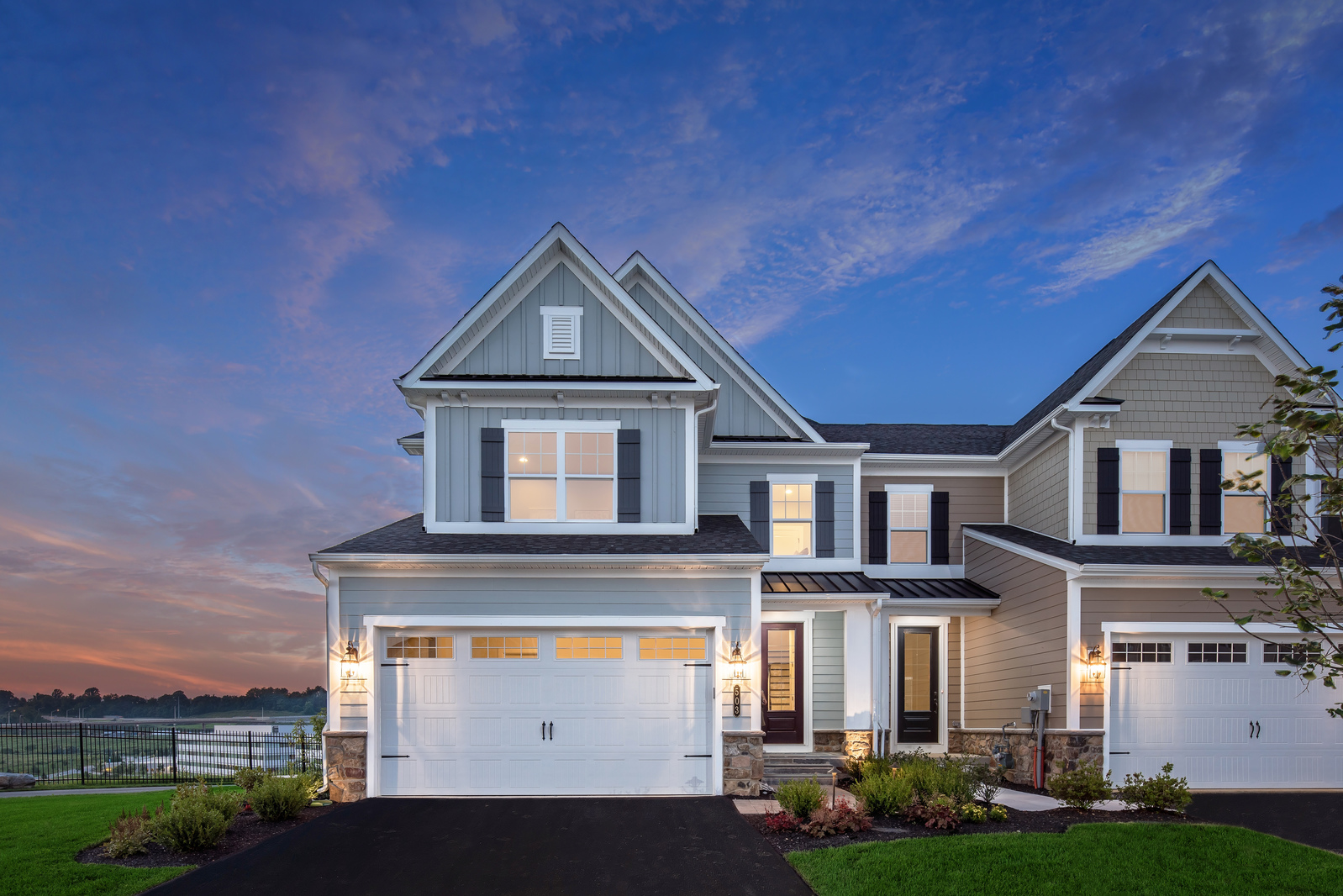 new luxury homes for sale at atwater carriage homes in malvern pa