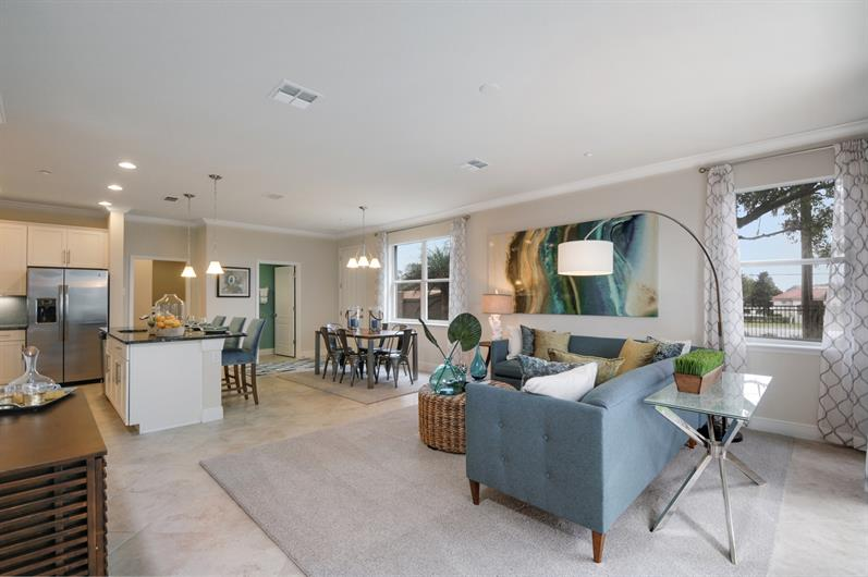Bright, Open Floorplans with Luxury Finishes at Holden Ridge's Townhomes