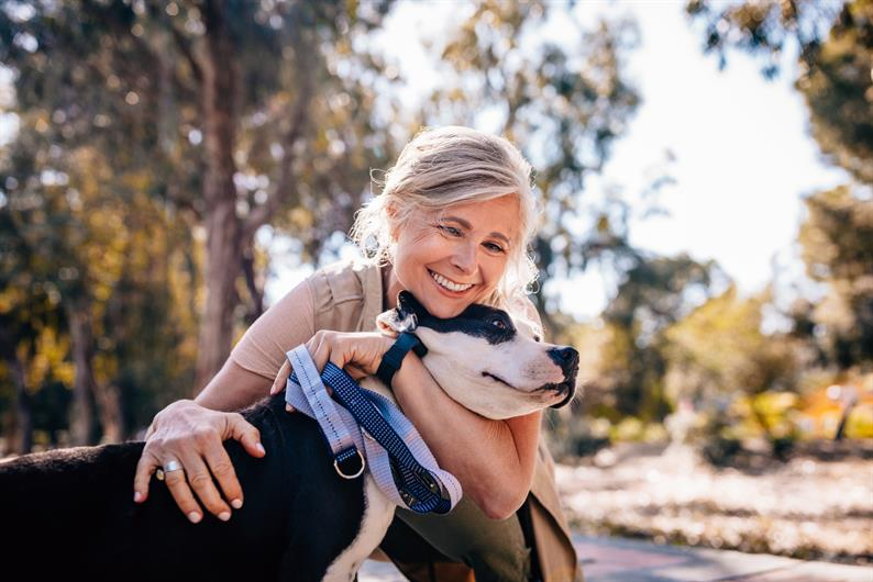 YOUR BEST FRIEND WILL LOVE THE COMMUNITY WALKING TRAILS