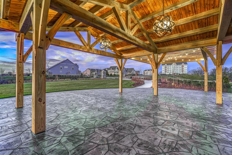 GATHER AT THE NEW COMMUNITY PAVILION