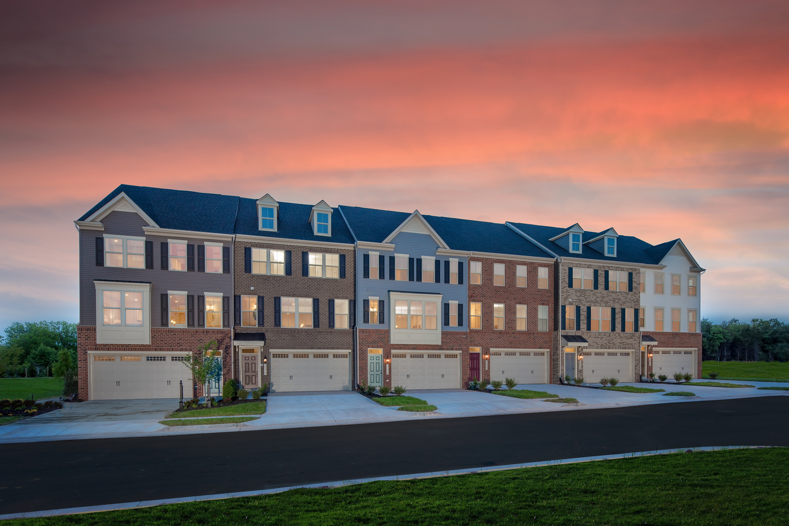 New homes for sale at the reserve at bradley square in manassas va welcome to the reserve at bradley square featuring luxury 2 car garage townhomes with solutioingenieria Gallery