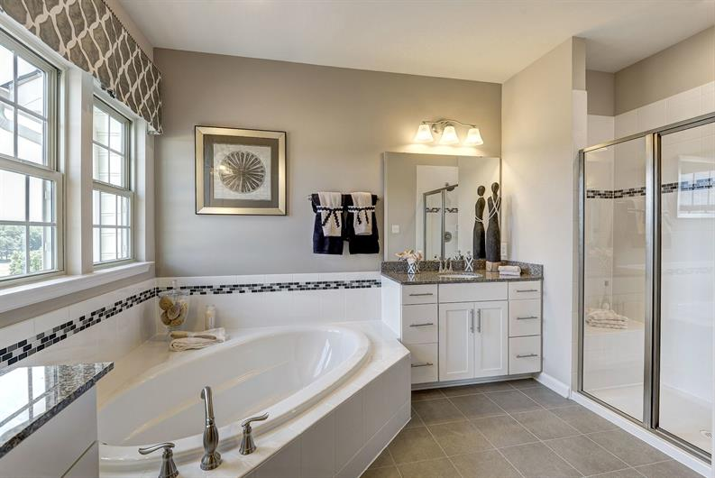 DESIGN YOUR OWNER'S SUITE BATH