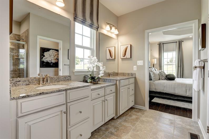 Luxe Owner's Bath Steps Away from Your Bedroom