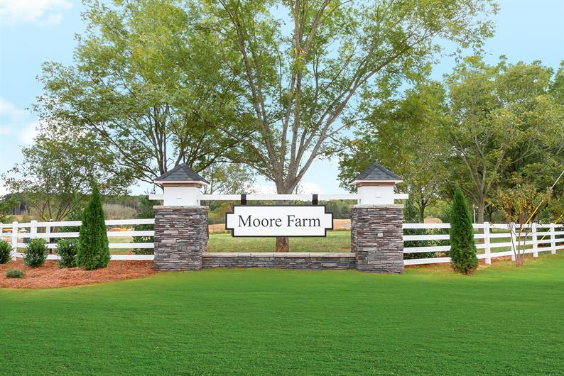 Picturesque community of wooded homesites