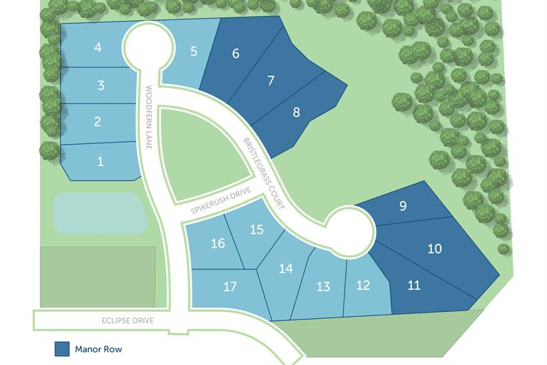 ONLY 1 HOMESITE REMAINING!