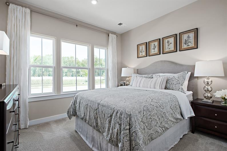 Spacious Secondary Bedrooms provide the perfect amount of space