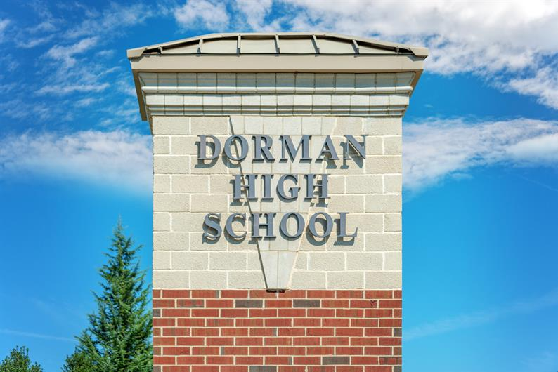 Dorman High School District 6 schools