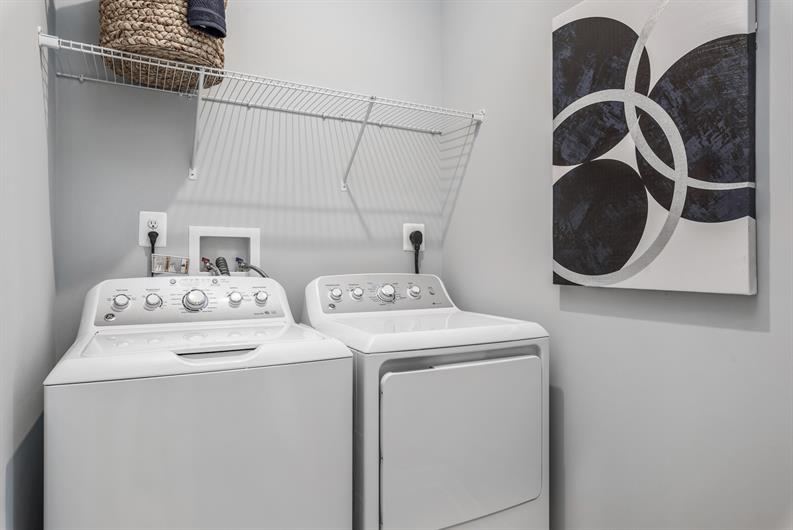 LAUNDRY AT YOUR CONVENIENCE