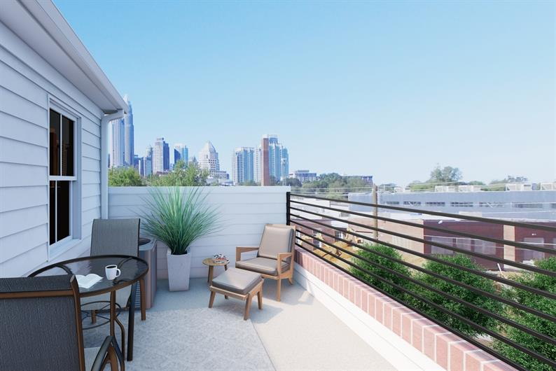 Enjoy Some Skyline Views from Your New Townhome