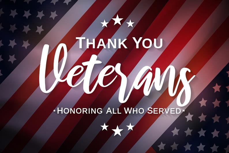 We thank you for your service!