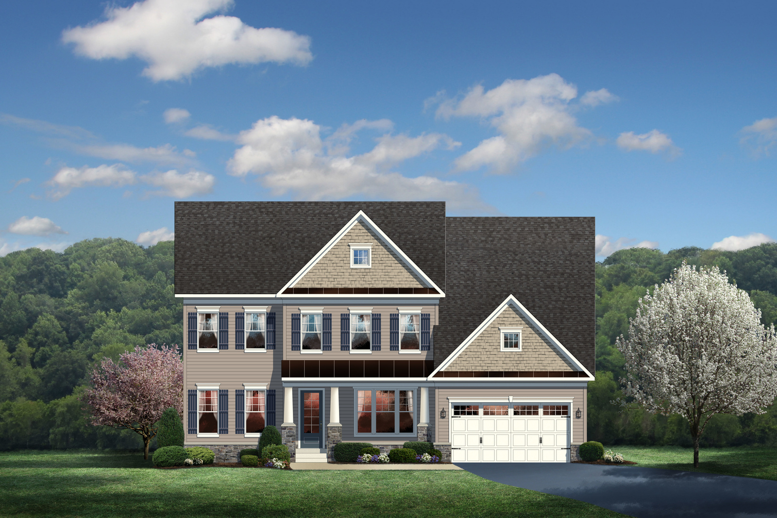 New remington place ii home model for sale heartland homes for Heartland homes pittsburgh floor plans
