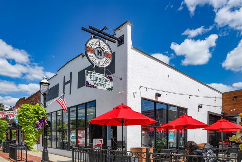 Enjoy a night out at nearby Plum Run Winery and Grove City Brewery