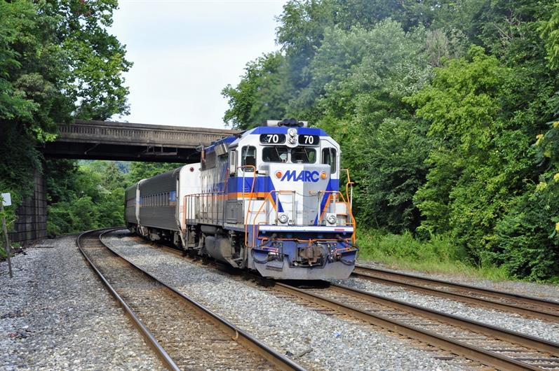 4 MILES TO THE MARC TRAIN