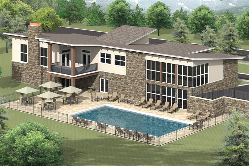FUTURE CLUBHOUSE AND POOL!