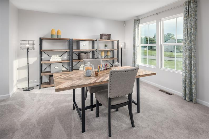 Flexible floorplans with a 5-bedroom option available