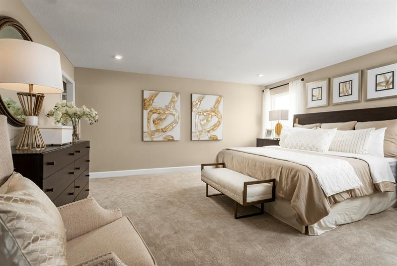 Enjoy a masterfully designed owner's suite